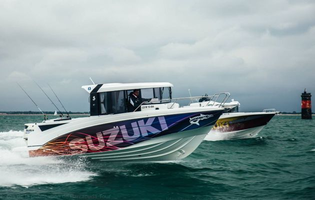 Suzuki en vedette sur le Barracuda Tour