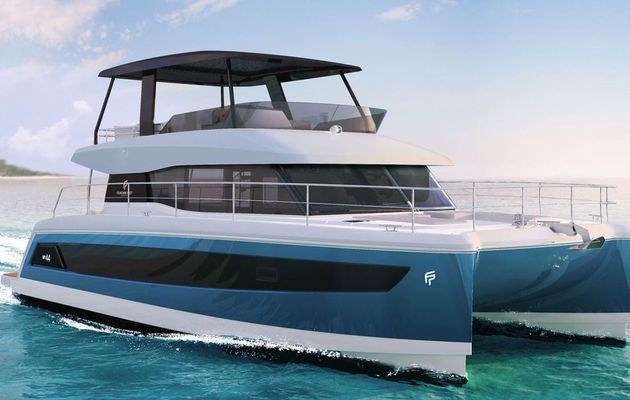 SCOOP - MY 44, le nouveau motoryacht catamaran de Fountaine-Pajot