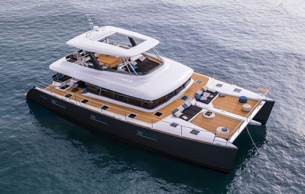 Le Lagoon 630 Motoryacht se dote d'une nouvelle plateforme avant