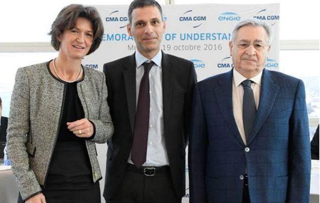 Du gaz naturel pour faire avancer les futurs porte conteneurs de CMA-CGM