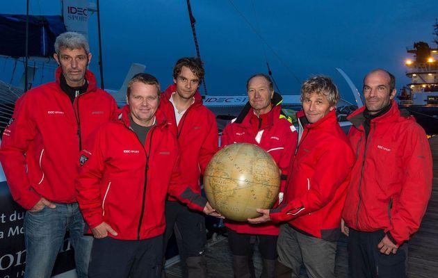 C'est parti pour la seconde tentative d'Idec Sport dans le Trophée Jules Verne