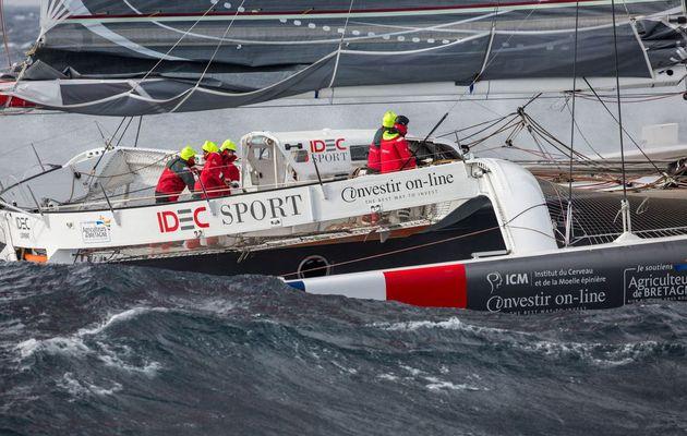 Trophée Jules Verne - 16h00 d'avance pour Joyon sur Peyron, au Cap Leeuwin