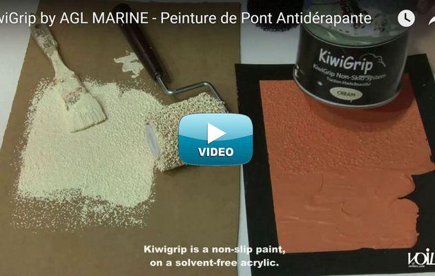 Vidéo - comment KiwiGrip révolutionne la peinture marine antidérapante