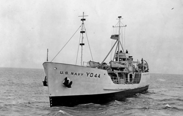 L'un des 5 derniers bateaux rescapés de Pearl Harbor bientôt sabordé au large des Iles Vierges Britanniques !
