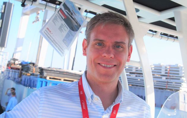 Interview Cannes Yachting Festival - Nicholas Stickler, président du chantier Boston-Whaler
