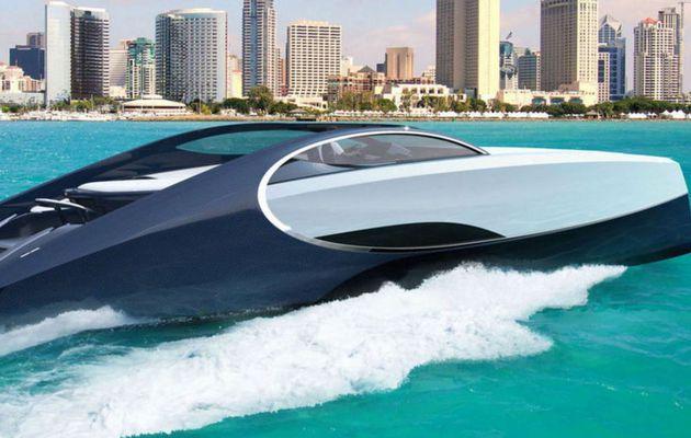 Après Mercedes, Aston-Martin et Lexus, Bugatti sort son premier yacht