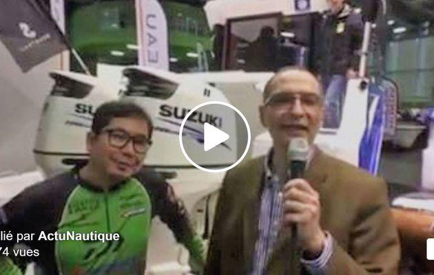 Salon de la Pêche en Mer - Ryusuke Hayashi rempile avec le Team Suzuki pour le Barracuda Tour 2017