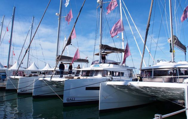 60 catamarans et trimarans exposés sur le 8e Salon International du Multicoque de la Grande Motte (34)