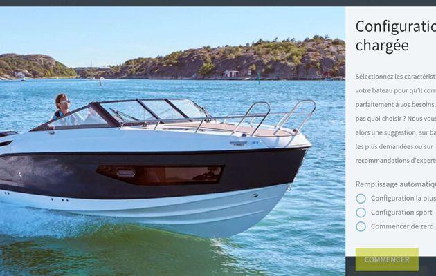 Quicksilver lance un configurateur de bateaux en ligne!
