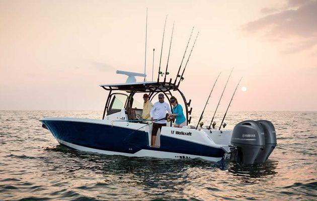 Sport Fishing - Le wellcraft 302 cc annonce la couleur !