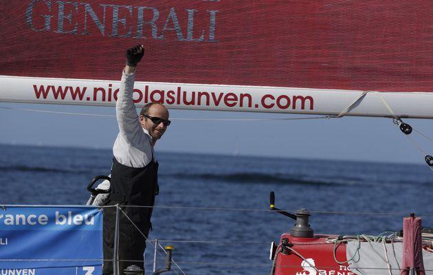 Nicolas Lunven premier de la troisième étape de la Solitaire du Figaro!