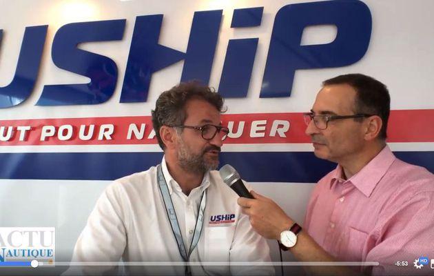 Vidéo - 14 nouveau magasins, et les loisirs nautiques comme axe de développement pour USHIP