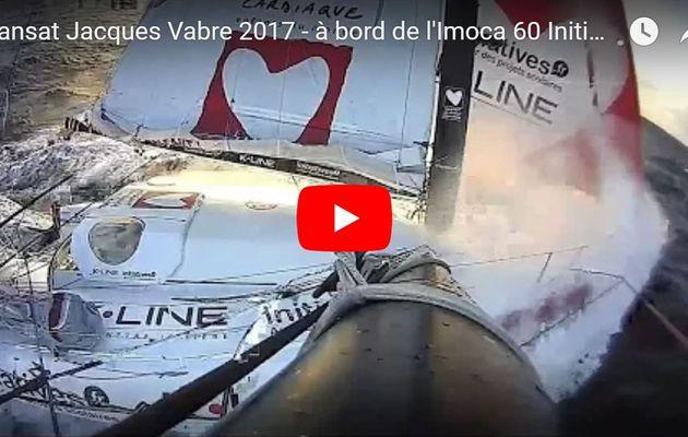 VIDEO Transat Jacques Vabre - impressionnantes, les images filmées à bord de l'Imoca 60 Initiatives Coeur