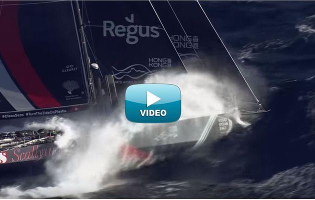 VIDEO - Dingue, entre voiliers et sous-marins, les VOR 65 de la Volvo Ocean Race !