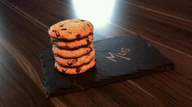 Cookies aux pépites de chocolat sans gluten et sans lactose