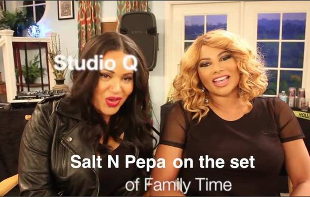 Quencie Thomas Interveiws Salt N Pepa