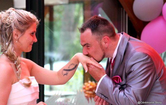 Christelle et Éric, une cérémonie laïque (hard) rock et romantique !