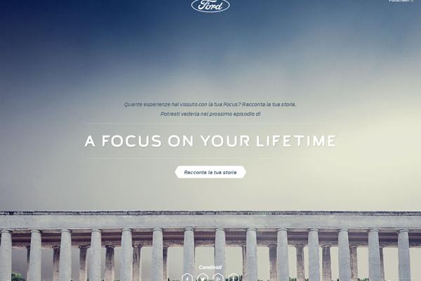 Racconta la tua storia con Ford Focus protagonista