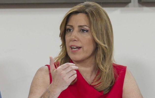 """Susana Díaz se muestra tajante: """"Si se les imputa un delito a mi no me va a temblar el pulso"""""""