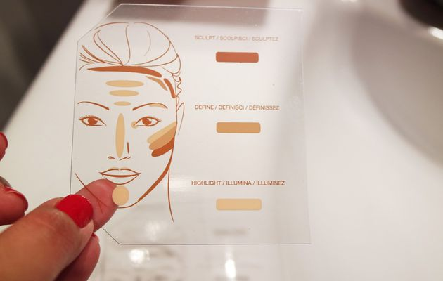 Palette Contouring - KIKO Total Sculpt 3 in 1 Contour Kit