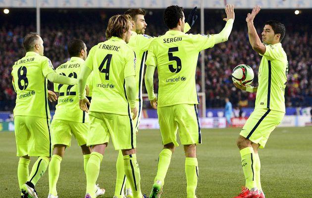Barça est sorti vainqueur (2-3)