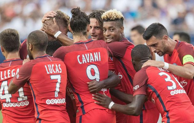 Le PSG domine facilement Leicester (4-0)