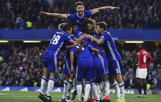Chelsea humilie Manchester United (4-0)