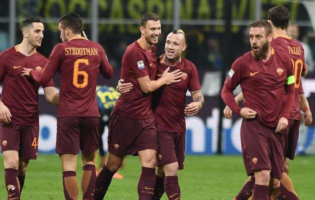La Roma a frappé fort dimanche soir en s'imposant 3-1