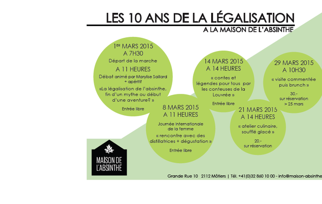 Le 14 mars, 4 animations