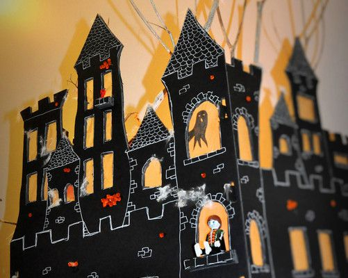 Halloween part. 1 : DIY le château terrifiant