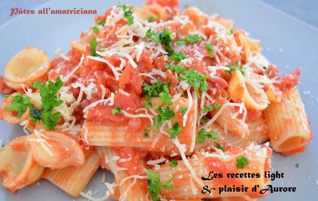 Pâtes all'amatriciana