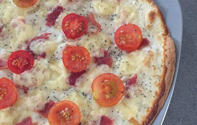 Tortillas pizza facon Prosciutto