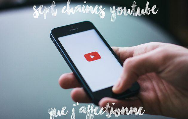 7 chaînes Youtube que j'affectionne