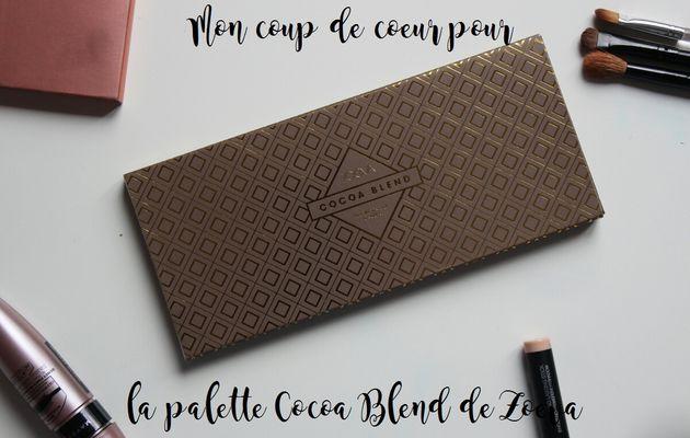 Coup de coeur pour la Cocoa Blend de Zoeva
