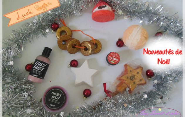 Collection de Noël chez Lush