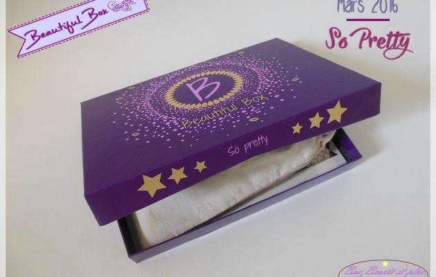Beautiful Box by Au Féminin - Mars 2016