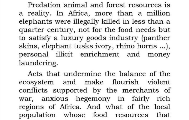 Illegal wildlife trafficking, a crime Sustaining the fight