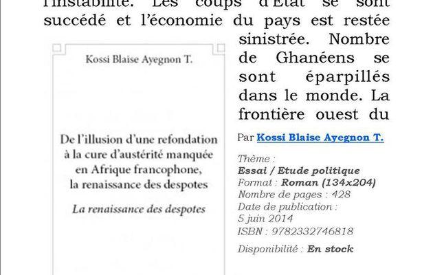Carnet d'un voyage Relance économique au Ghana
