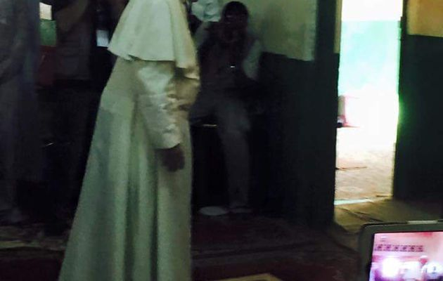 Le Pape François me fait pleurer !