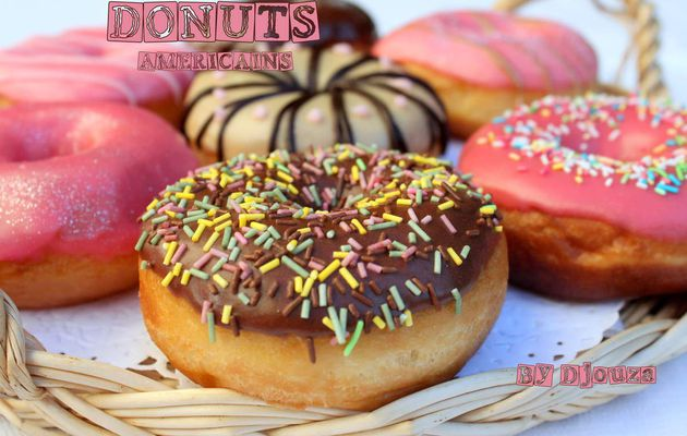 Video donut doughnuts americains