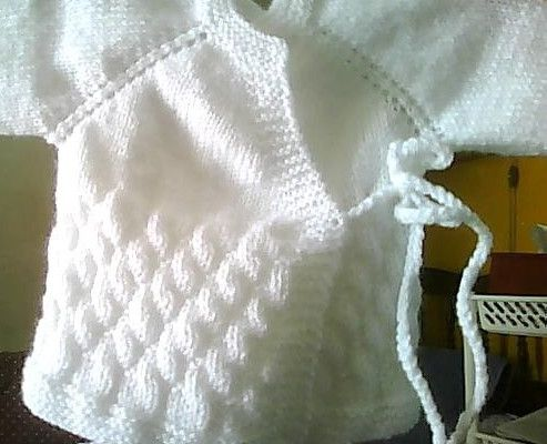 Layette tricot d'avril 2017