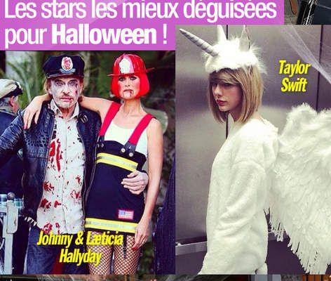 Les stars les mieux déguisées pour Halloween ! #Halloween