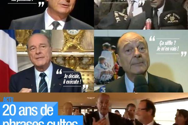 20 ans de phrases cultes de Jacques Chirac ! #Chirac