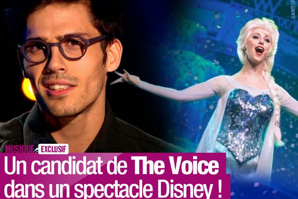 Un candidat de The Voice dans un spectacle Disney! #Exclusif
