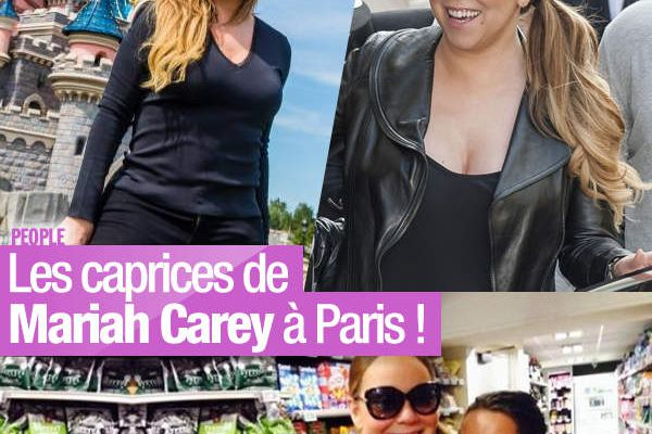 Les caprices de Mariah Carey à Paris ! #MariahCarey