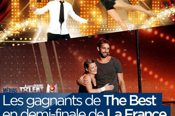 Les gagnants de The Best en demi-finale de La France a un Incroyable Talent ! #LFAUIF