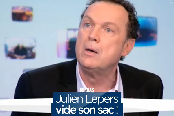 Julien Lepers vide son sac ! #QPUC