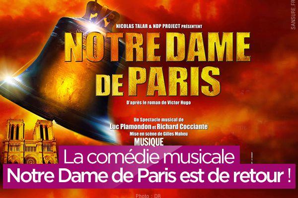 La comédie musicale Notre Dame de Paris est de retour ! #NotreDame