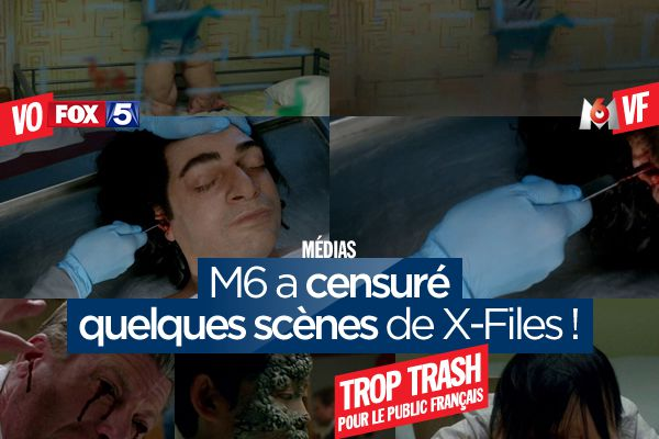 M6 a censuré quelques scènes de X-Files ! #XFiles