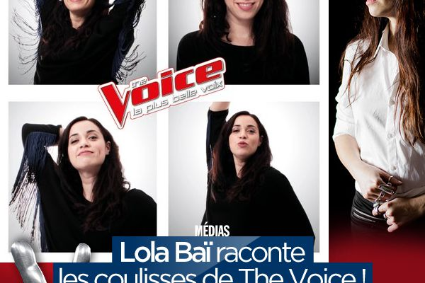Lola Baï raconte les coulisses de The Voice ! #TheVoice